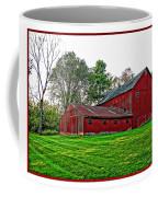 Red Barn In Ohio Coffee Mug