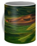 Red Barn In The Morning Sun Coffee Mug