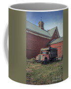 Red Barn Red Truck Coffee Mug