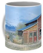 Red Barn, Route 50, Nevada Coffee Mug