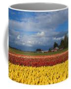 Red Barn Tulip Farm Coffee Mug