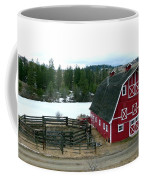 Red Barn Coffee Mug by Will Borden