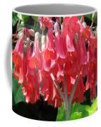 Red Bell Flowers. Sunny Spring Coffee Mug