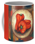 Red Bell Peppers Coffee Mug
