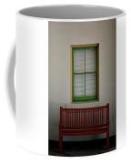 Red Bench Coffee Mug