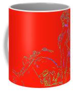 Red Biker Biatch Ps Coffee Mug