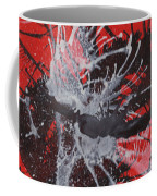Red Black White Coffee Mug