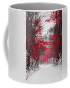 Red Blossoms  Coffee Mug