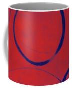 Red Blue Ensos Coffee Mug
