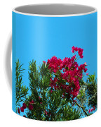 Red Bougainvillea Glabra Vine Coffee Mug