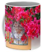 Red Bougainvilleas Coffee Mug by Gaspar Avila