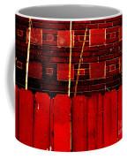 Red Brick And Sticks Coffee Mug