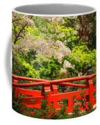 Red Bridge Springtime Coffee Mug