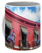 Red Building And Alebrije Coffee Mug