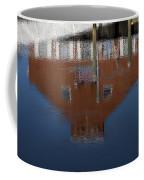Red Building Reflection Coffee Mug