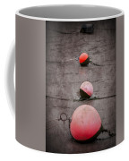 Red Buoys  Coffee Mug by Svetlana Sewell