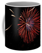 Red Burst Coffee Mug