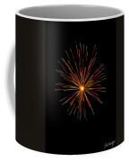 Red Burst Coffee Mug by Phill Doherty