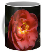 Red Camellia Bloom Coffee Mug