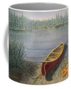 Red Canoe 3  Coffee Mug