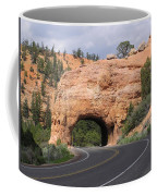Red Canyon Tunnel Coffee Mug