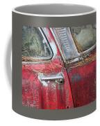Red Car Door Handle Coffee Mug