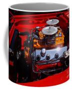Red Car Engine  Coffee Mug