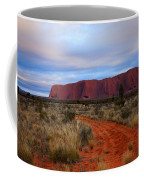 Red Center Dawn Coffee Mug