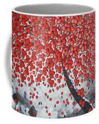 Red Cherry Tree Coffee Mug