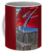 Red Chevrolet Grill And Hood Ornament Coffee Mug