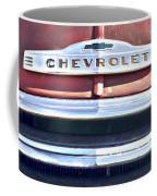 Red Chevrolet Grill Coffee Mug