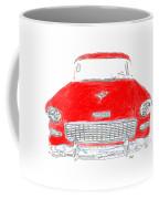 Red Chevy T-shirt Coffee Mug