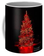 Red Christmas Tree Coffee Mug