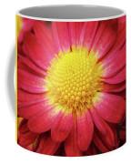 Red Chrysanthemum Coffee Mug