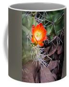 Red Claretcup Cactus Coffee Mug