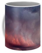 Red Clouds On The Evening Sky Coffee Mug