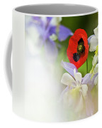 Red Corn Poppy Coffee Mug
