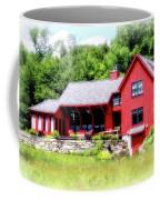 Red Cottage Coffee Mug