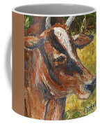 Red Cow Coffee Mug