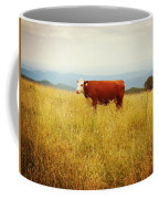 Red Cow On The Blue Ridge Coffee Mug
