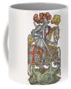 Red Cross Knight, 1598 Coffee Mug