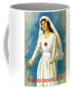 Red Cross Nurse - Ww1 Coffee Mug