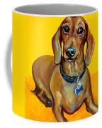 Red Dachshund - Tigger Smiles Coffee Mug