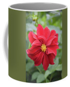 Red Dahlia-2 Coffee Mug