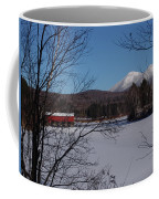 Red Dam And Percy Peaks In Winter Coffee Mug