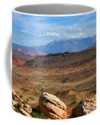 Red Desert With La Sal Mountains Coffee Mug