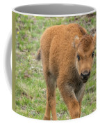 Red Dog Bison In Yellowstone Coffee Mug