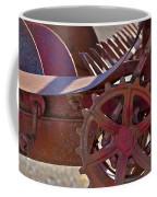Red Drive Cog Coffee Mug
