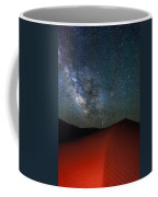 Red Dunes At Night Coffee Mug