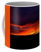 Red Eagle In The Clouds  Coffee Mug